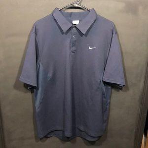 Nike blue polo T-shirt size XL